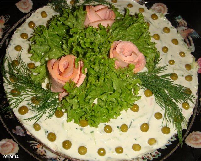 Овощной торт  28e2e857c800