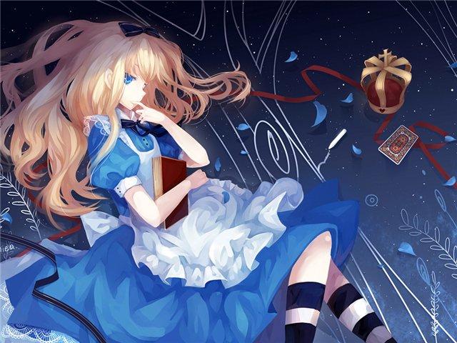 Арты на тему: 'Alice in Wonderland' 05a056e25999