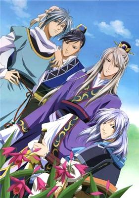 Повесть о стране цветных облаков / Saiunkoku Monogatari (2006-2007, 2 сезона по 39 серий) C0ae227ba7d6