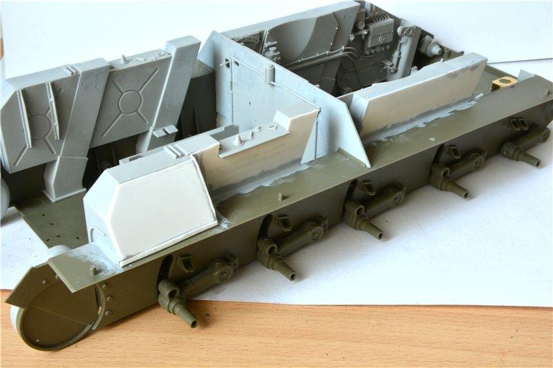Т-34/85 model 1944г. Factory №. 174 маштаб 1/16 Trumpeter D5462fc70705