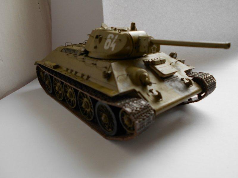 Т-34/76 Красное Сормово 1/35 (Моделист) C07413994b66