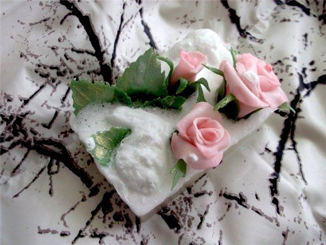 Цветочное  мыло 194a429f2806