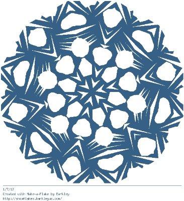 Зимнее рукоделие - вырезаем снежинки! - Страница 10 12c6de423822