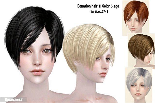 Прически для The Sims 2 .Женские 4751ffc10967