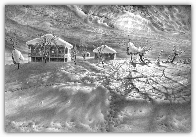 Снег, согревающий душу (Доленджашвили Г.) 48104c877e5e