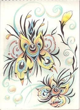 Рисунки ручкой - Страница 2 Ffc15e27e438t