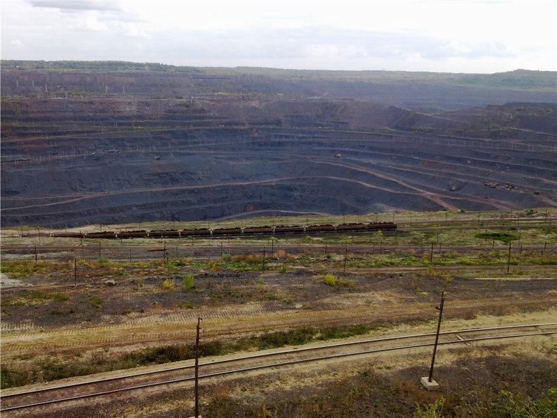 Поездка в Михайловский ГОК (Железногорск) - тем, кто не видел каньон в США ) B966b5847eb3