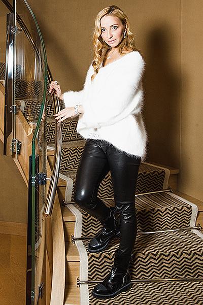 Татьяна Навка - официальный посол бренда Chopard 139c850583c6