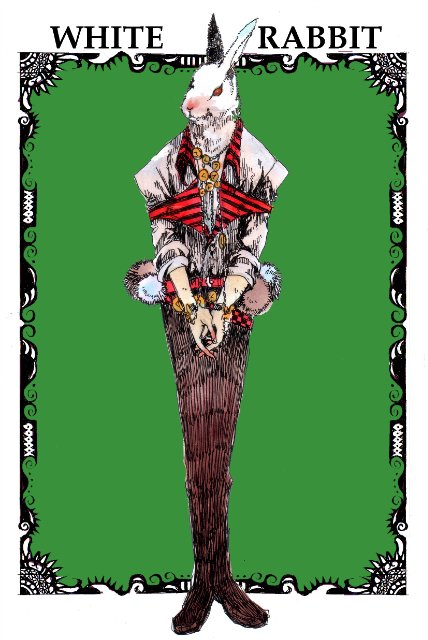 Арты на тему: 'Alice in Wonderland' 11069d5e1679