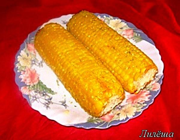 Кукуруза запечённая в духовке Ec21a0efc24e