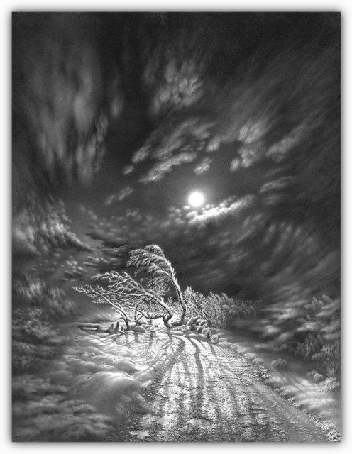 Снег, согревающий душу (Доленджашвили Г.) F61f015efe6b