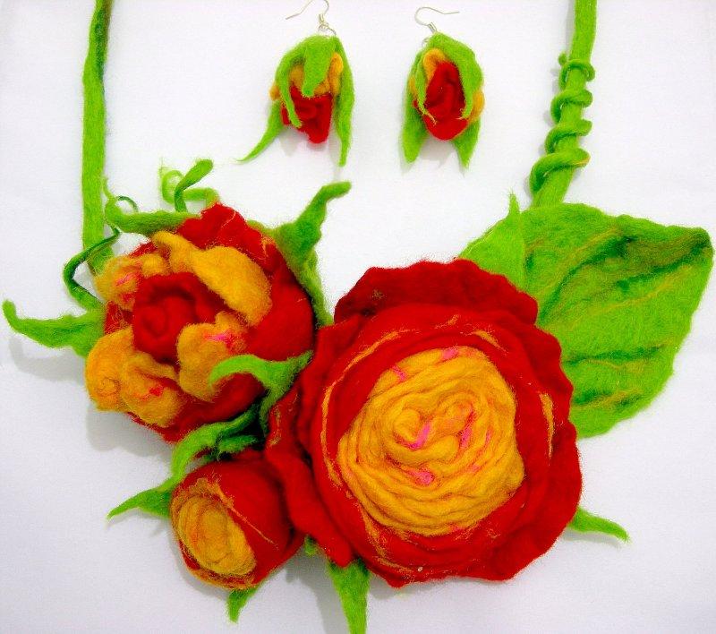 Цветы из фетра Dc1598c655cd