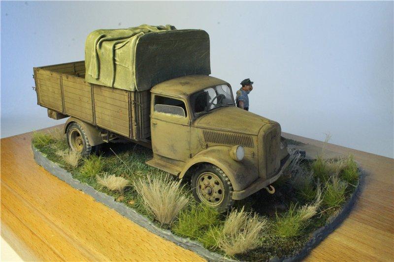 Italeri 216 Opel Blitz German truck 3 (t) Type S 1:35 82971701d2ea