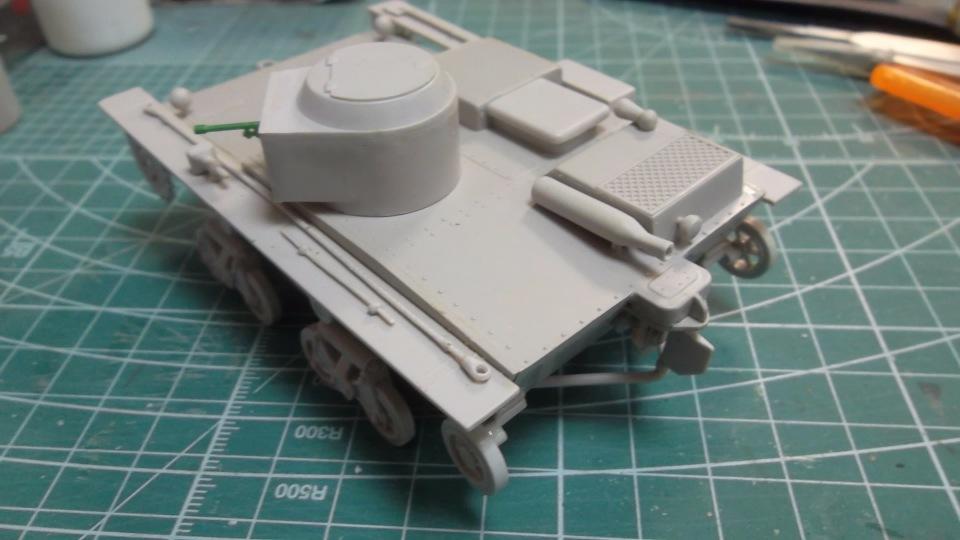 Т-38 малый плавающий танк, 1/35, (Восточный экспресс 35002 / MSD 3522 / AER Moldova). E4fd4d8e779d