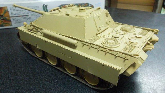 Jagdpanther, 1/35, («Tamiya» 35203). 2e7d53eac0b7
