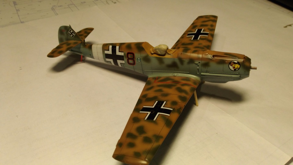 Bf 109 E7/Trop Tamiya 1:48 96f85a80a8de