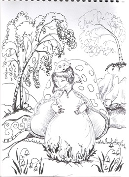 Рисунки ручкой Ffdb602b54cat
