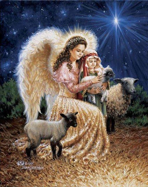 Рождественские ангелы от Dona Gelsinger Ab58f07f9641