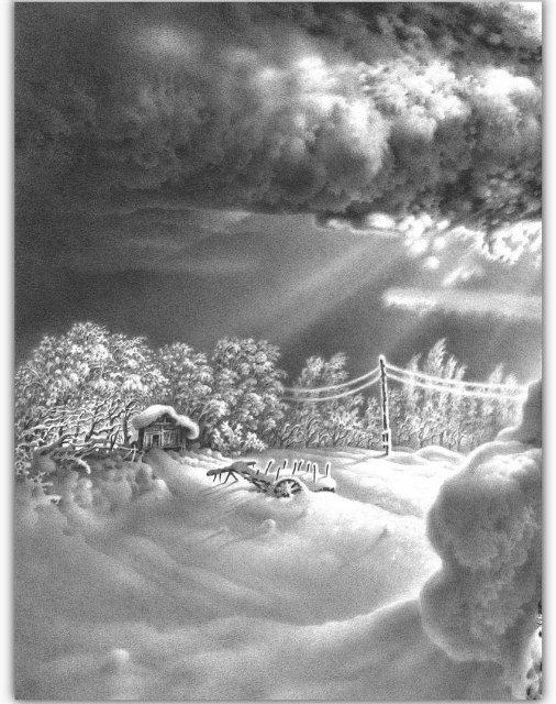 Снег, согревающий душу (Доленджашвили Г.) A22364c27ddb