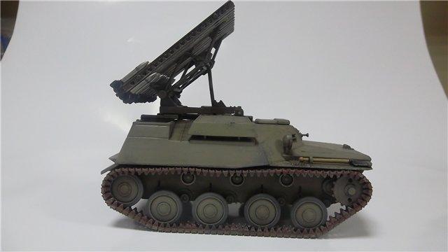 Катюша БМ-8-24 на Т-40, 1/35, (Старт) 87879b660cec