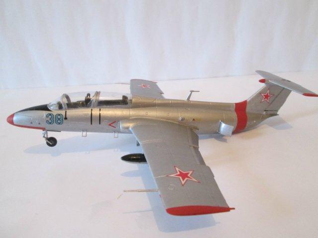 "Л-29 ""Дельфин""  АМК 1/48 050eddb6f897"