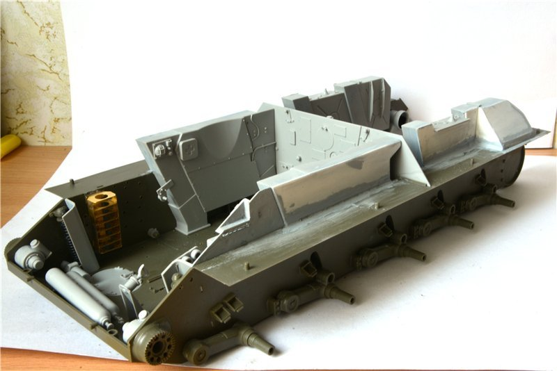 Т-34/85 model 1944г. Factory №. 174 маштаб 1/16 Trumpeter 17169b2b3dac