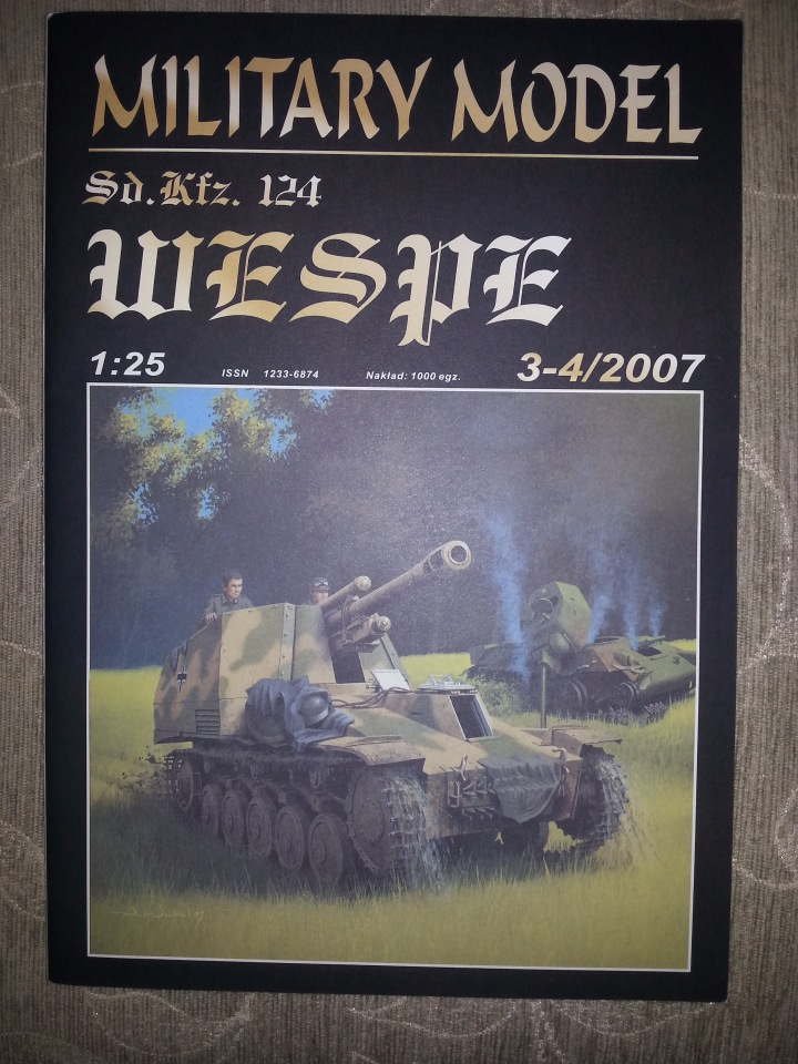 Sd.Kfz.124 Wespe 1:25 Halinski (3-4)2007 405cda849ff2
