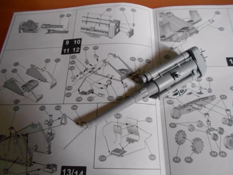 Советская 203-мм гаубица Б-4 1/35 (Alan №3522) 1626eaafb210