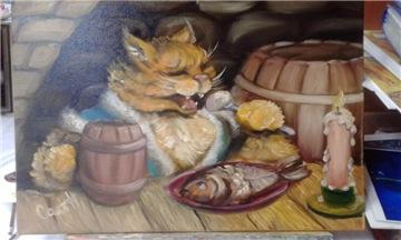 Кошки из бамбука и акрила - Страница 15 Cb8e36dfb33at