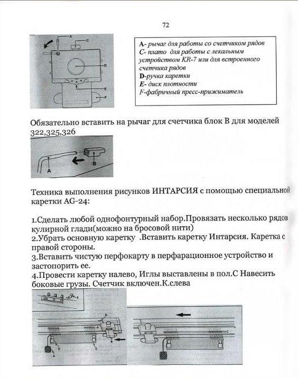 Начальный курс по обучению вязания на вязальной машине SILVER REED   - Страница 4 D09ce2a95d61