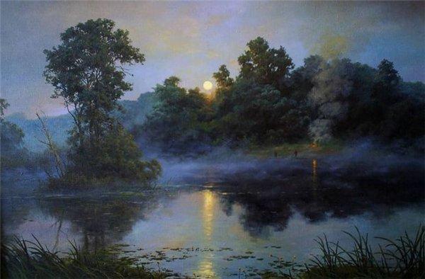 Магия ночи в живописи 73bc8b953850
