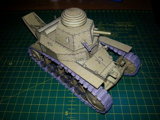 Т-18 (МС-1) Бумажное моделирование №45 7c000b45e4eb