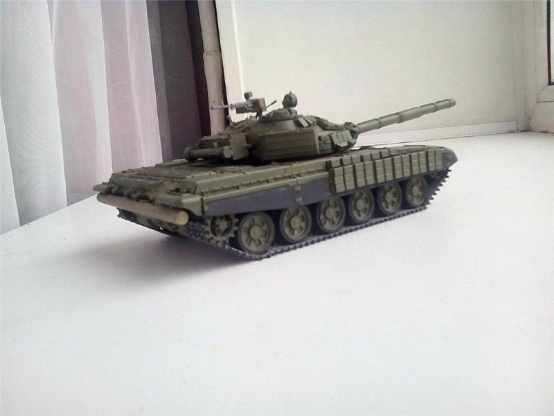 Танки Т-72, 1/35 звезда. E8c8b41ebdcct