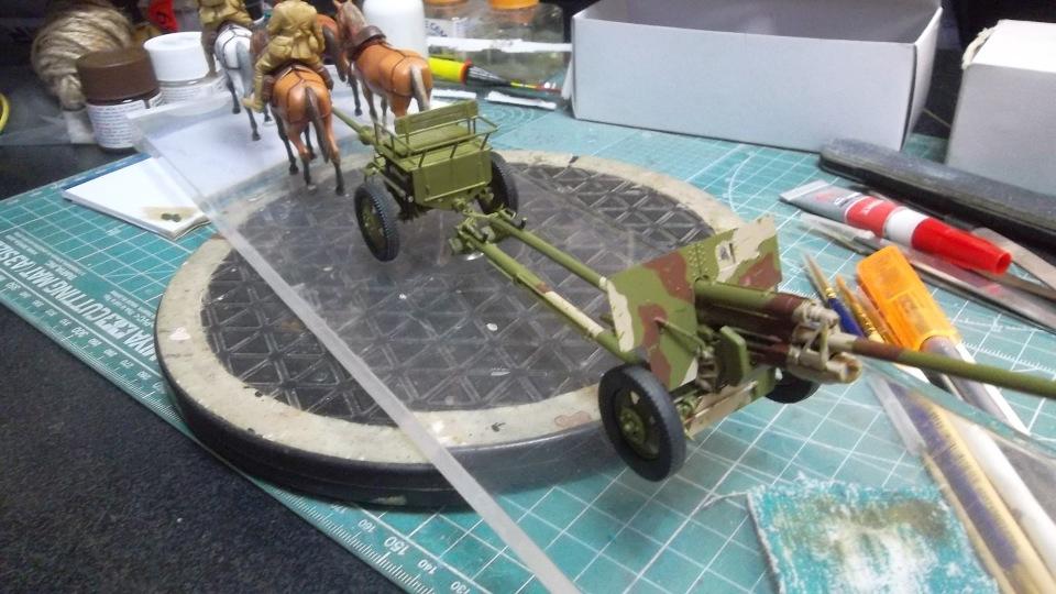 Советский артиллерийский передок 52-Р-353M, 1/35, (ICM 35481). - Страница 2 929a2258fb42