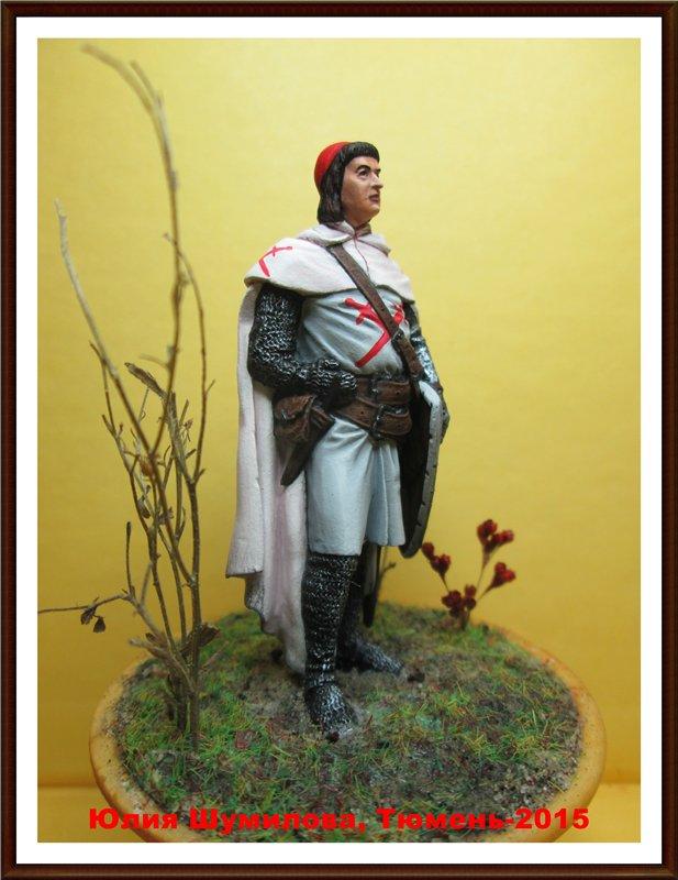 Рыцарь Ордена меченосцев, нач. 13 в. 7838a734927b