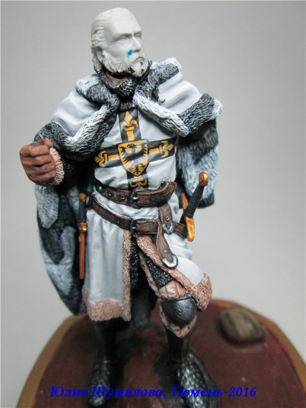 Великий Магистр Тевтонского ордена, 14в.. На Конкурс по росписи миниатюры. A74130168d99
