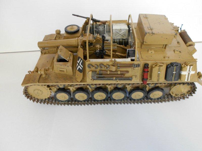 Немецкое 150-мм самоходное орудие Штурмпанцер II 1/35 (Арк модел) B778c40e5a41