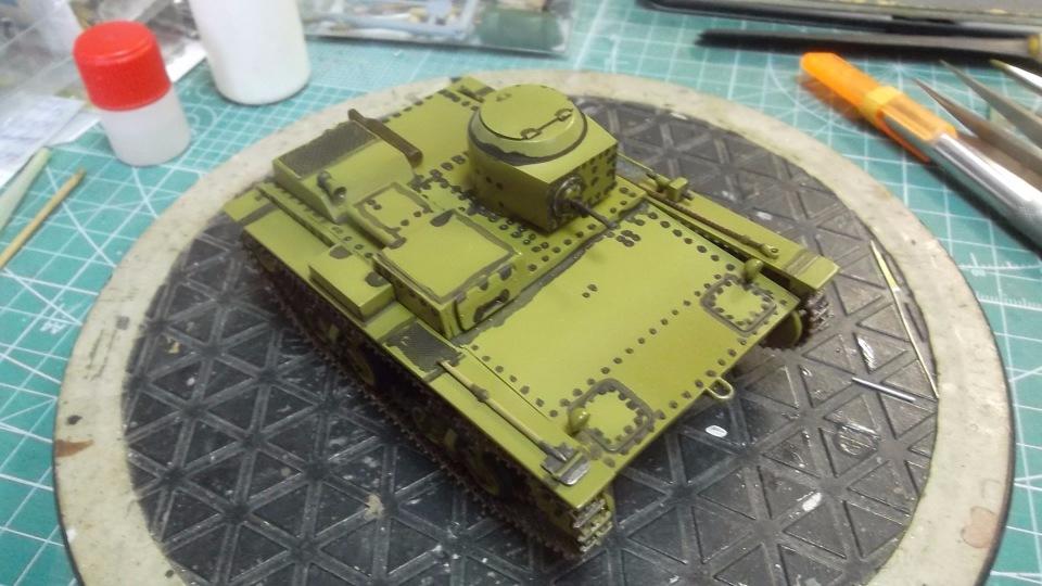 Т-38 малый плавающий танк, 1/35, (Восточный экспресс 35002 / MSD 3522 / AER Moldova). 1f6b34500f82