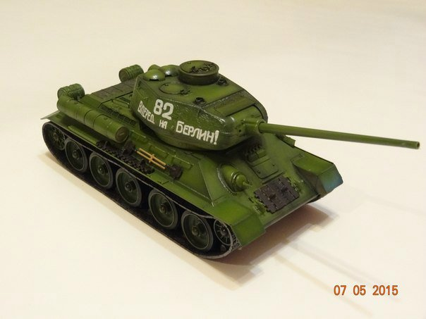 Т-34-85 Звезда 1/35 91ae0ce92e26