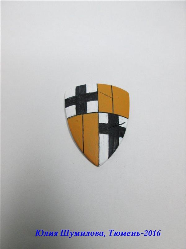 Великий Магистр Тевтонского ордена, 14в.. На Конкурс по росписи миниатюры. 8083a494e64c
