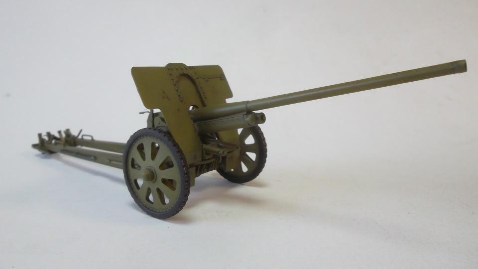 76-мм Дивизионная пушка Ф-22 обр.1936г., 1/35, (ICM 35702). 59cef9ae7b83