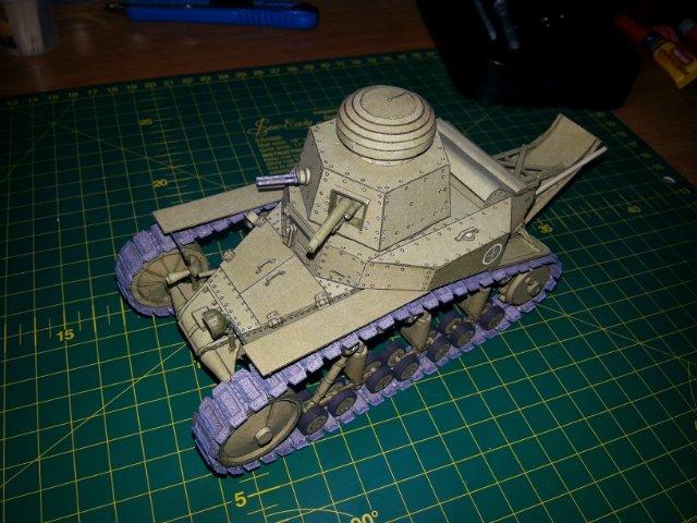 Т-18 (МС-1) Бумажное моделирование №45 29dae76880a2