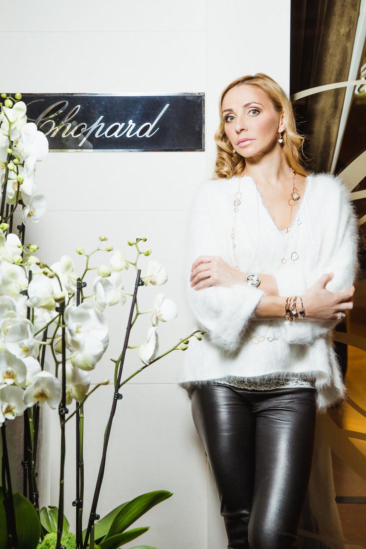 Татьяна Навка - официальный посол бренда Chopard B51a975ddac0