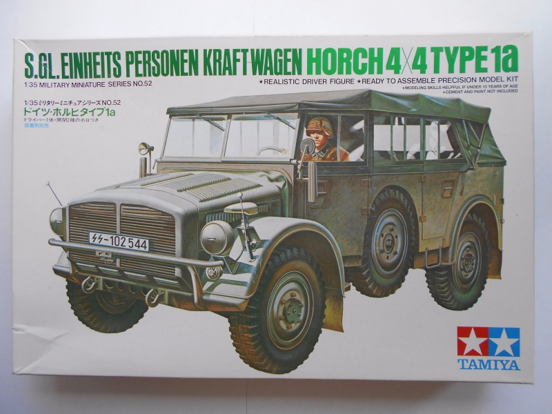 Обзор Horch Type 1A 1/35 (Tamiya №35052) F3bf54cbea6a