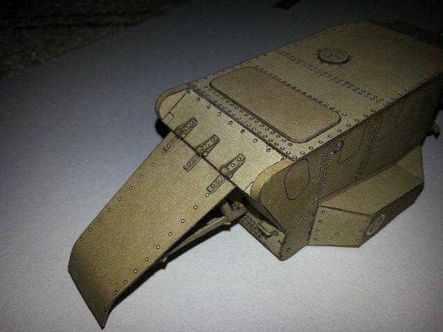 Т-18 (МС-1) Бумажное моделирование №45 57c08dae377b