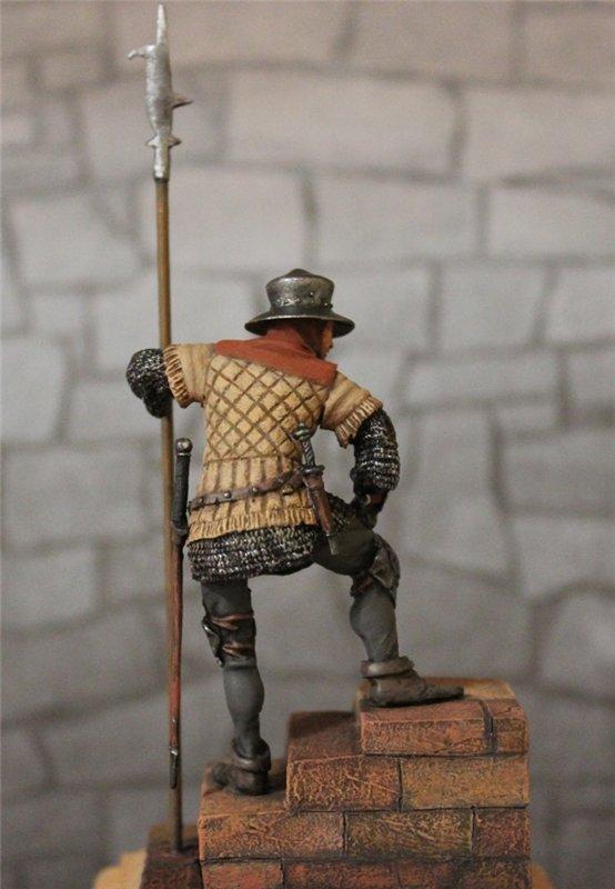 Солдат гарнизона стражи,Англия,15 век. Автор: Дмитрий Фурсов, г. Тамбов. 1f20108d86c4