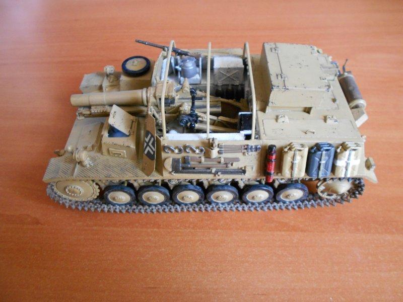 Немецкое 150-мм самоходное орудие Штурмпанцер II 1/35 (Арк модел) C9975df45290