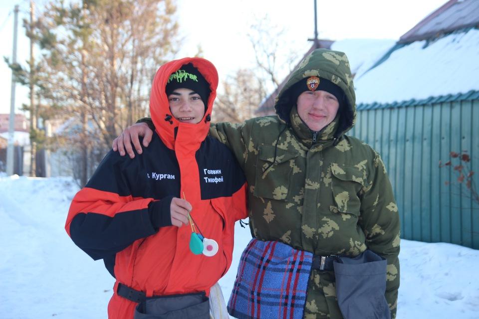 Первенство города Кургана по ловле на мормышку со льда среди юношей и девушек с 14 до 17 лет. 92bd082fe8c5