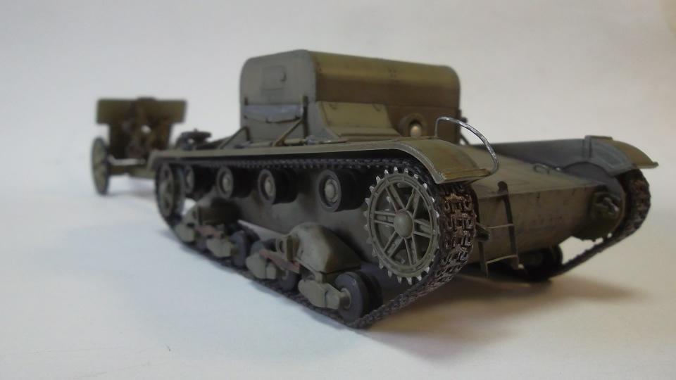 Т-26Т артиллерийский тягач, 1/35, (RPM 35072). C3a605b50af4