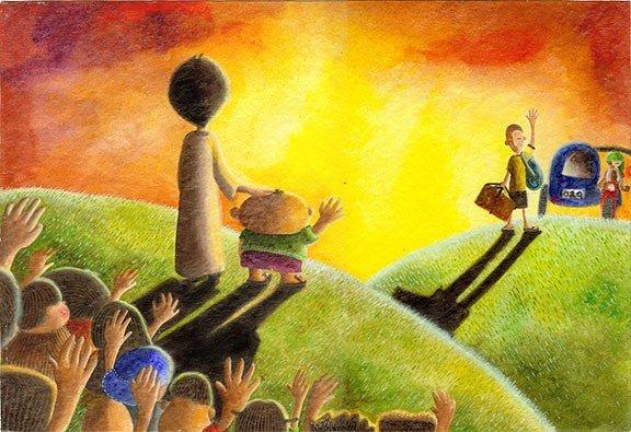 Рисунки детства от May Ann Licudine 3449afb1f6fc